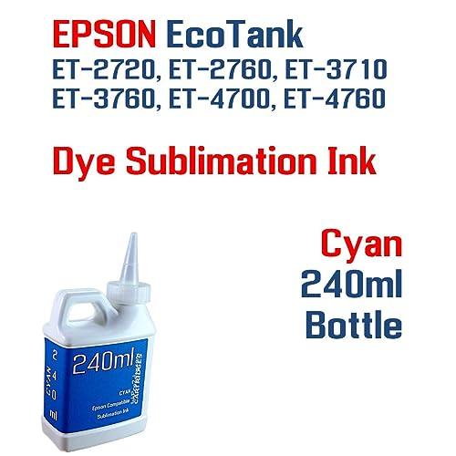 Buy Dye Sublimation Ink - EcoTank ET-2720 ET-2760 ET-3710 ET