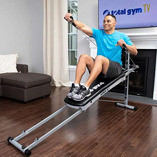 total gym apex g1 versatile indoor home workout total body