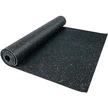 Happybuy Garage Floor Mat 4.9x13ft Vinyl Garage Flooring Roll Anti-Slide Diamond Texture Silver Garage Mats for Under Car 63.7sqft Covering Space DIY PVC Garage Floor Mat for Gyms Boats Car Trailer